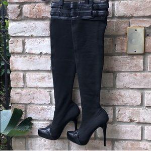 Report Signature Women's Thigh Stiletto Boots
